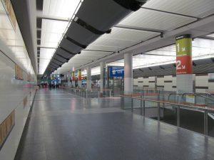 Perth Underground Station Interior